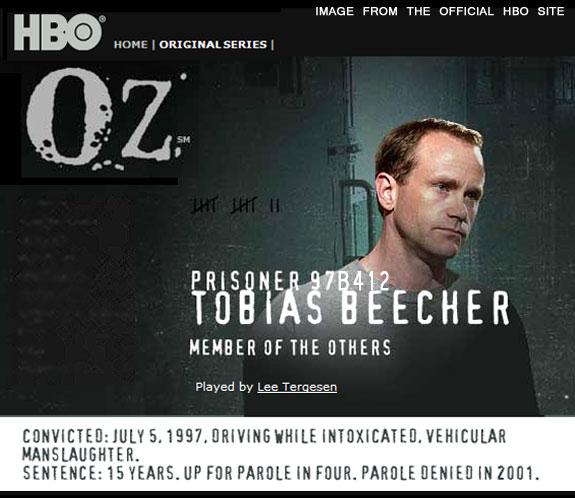 HBO: Oz: Homepage